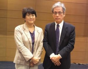 久し振りにおめにかかった山口二郎先生。