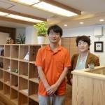 久し振りにお会いした理事長の佐久間裕章さん。