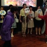 開催地千葉「市民ネットワーク千葉県」の面々による楽しいパフォーマンス。